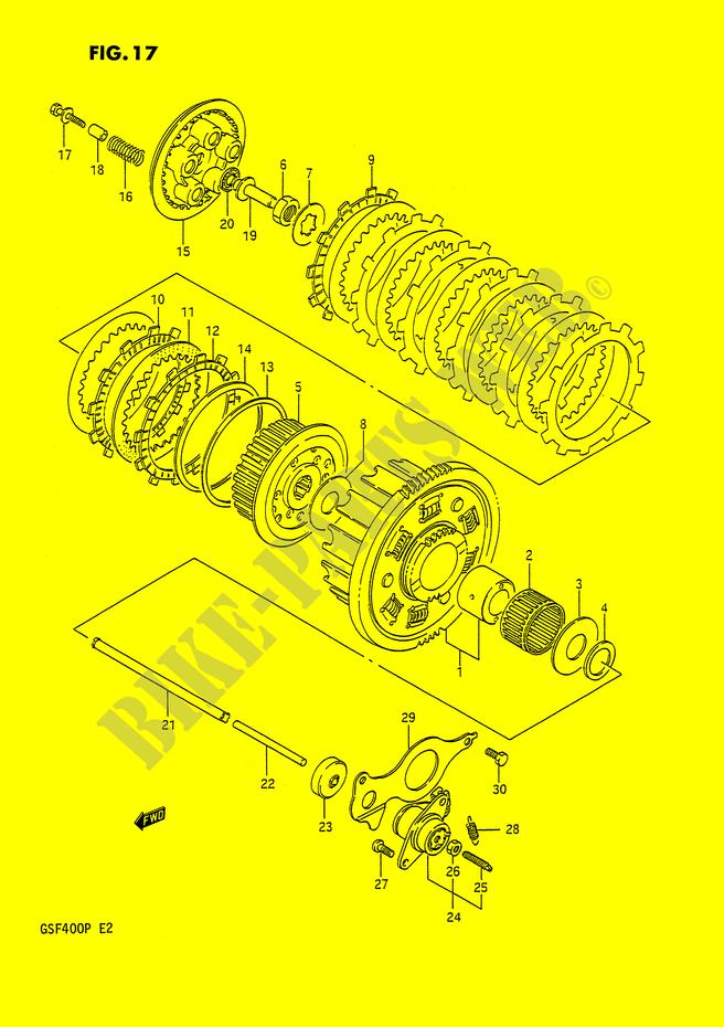 Restauración de Suzuki GSF 400 Bandit GK75A - Página 4 DP015996