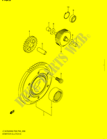 MOTOR ARRANQUE EMBRAGUE para Suzuki KINGQUAD 750 2008