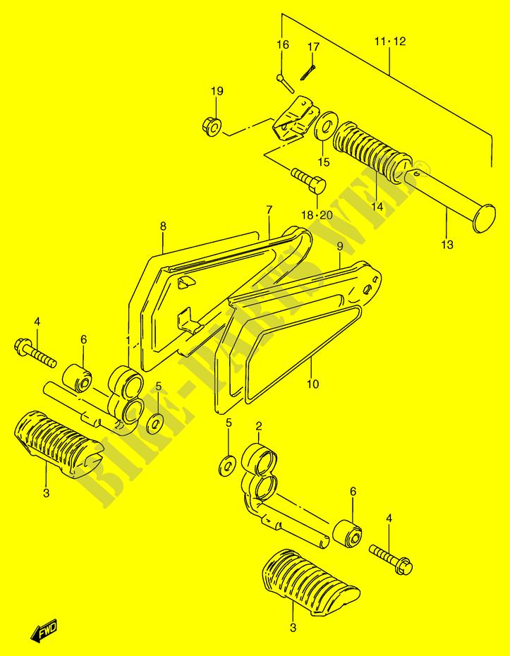 Contemporáneo 20 De Bastidor Moto Cresta - Ideas Personalizadas de ...