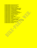 CARTA COLORES para Suzuki KINGQUAD 750 2008