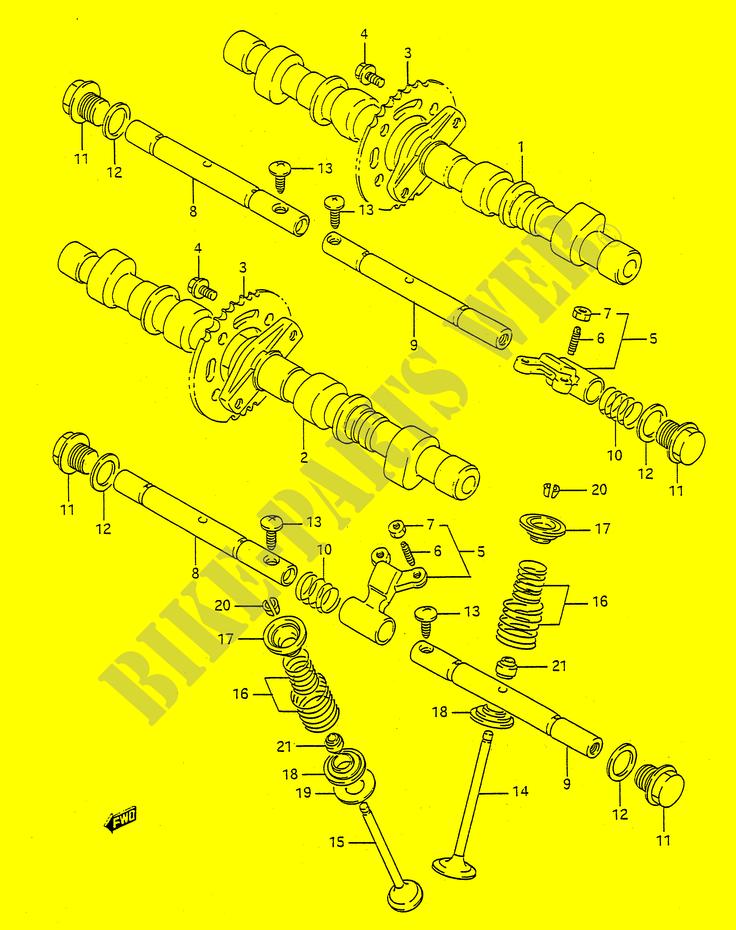 """""""Involving"""" - La involución - Página 9 EJE-LEVAS-VALVULA-Suzuki-MOTO-400-BANDIT-N-1993-GSF400P-E28--DP015750"""